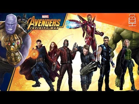 Avengers Infinity War New Artwork Revealed