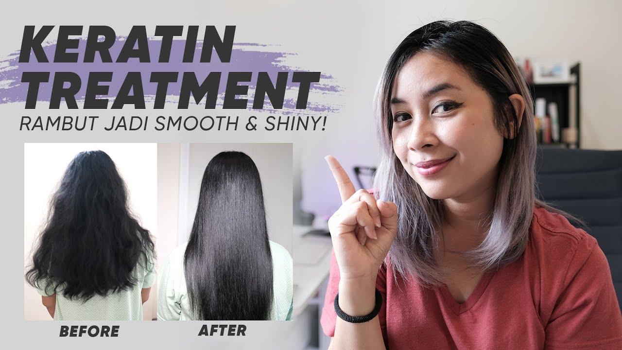 Hair Keratin Treatment Perawatan Rambut Mengembang Ikal Rusak Dan Kering Youtube