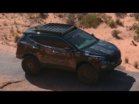 Hyundai Santa Fe Sport Rockstar Energy Moab Concept / SEMA 2017