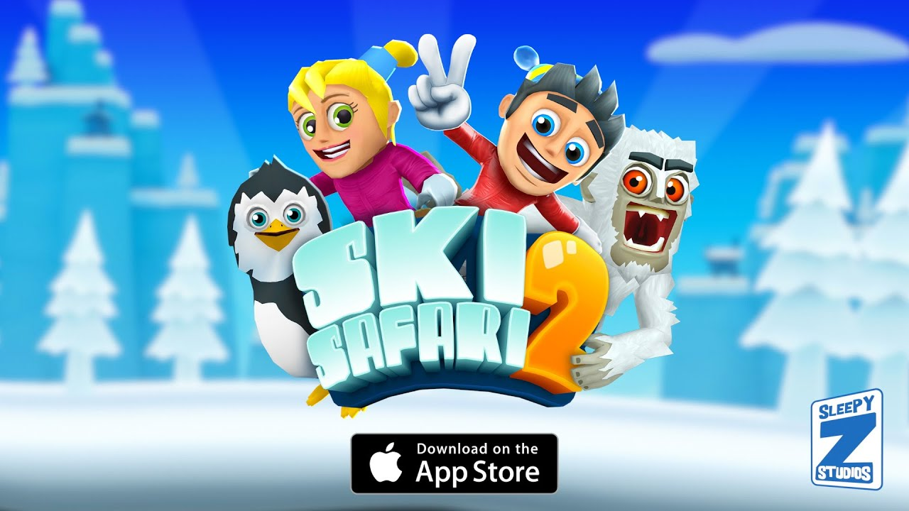 Ski Safari 2 Launch Trailer (iOS)