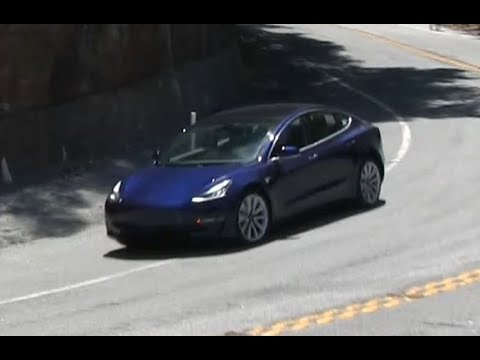 Tesla Model 3 Spyshot