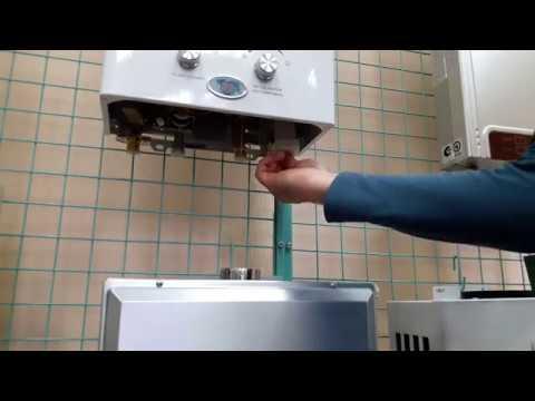 Как поменять батарейку в газовой колонке нева