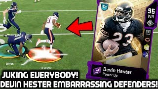 DEVIN HESTER IS TOO FAST TO CATCH! INSANE TOUCHDOWN PLAYS! Madden 20 Ultimate Team