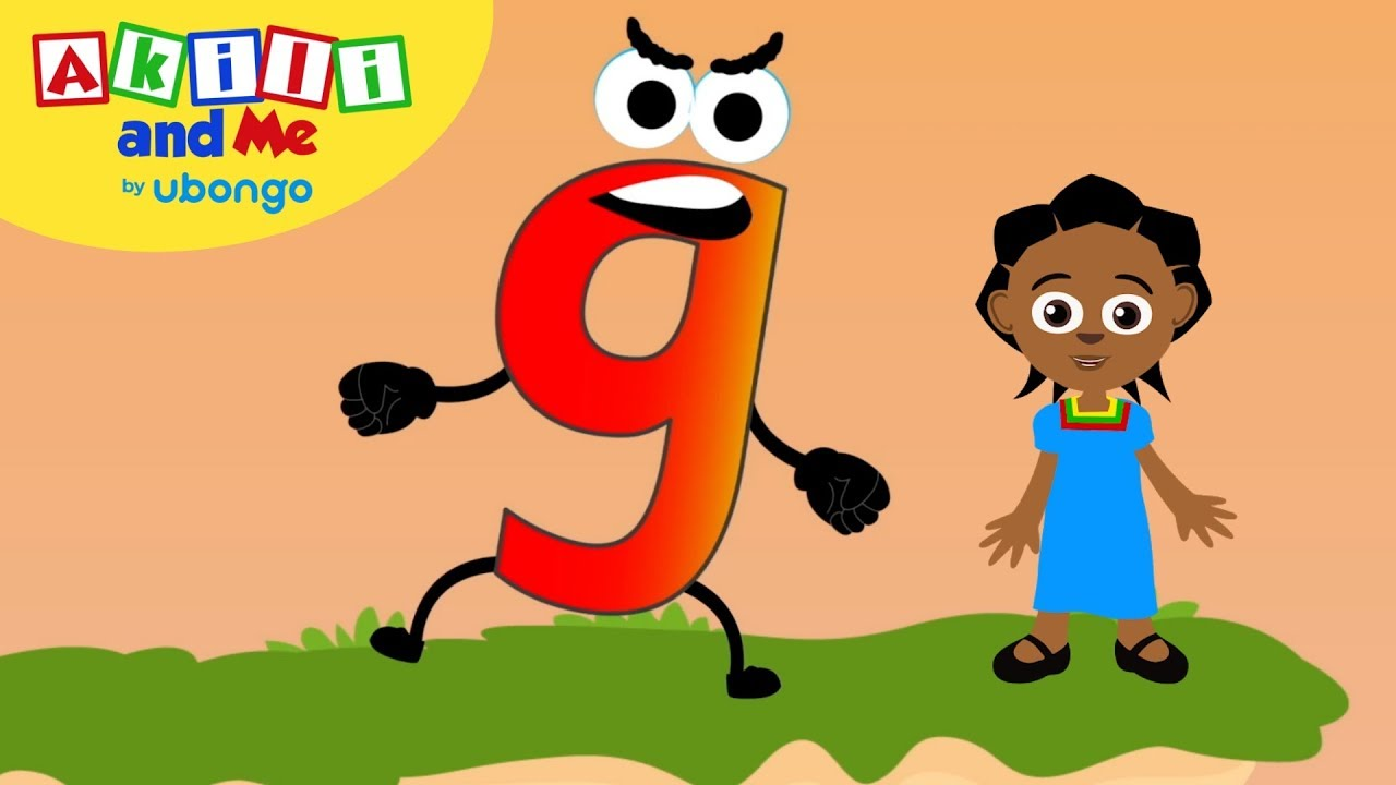 Learn Letter G! | The Alphabet with Akili | Cartoons for Preschoolers