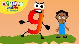 Learn Letter G! | Tнe Alphabet with Akili | Cartoons for Preschoolers