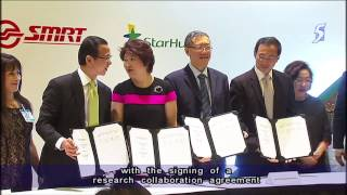 LTA, SMRT tie up with IBM and StarHub to improve public transport - 02Jun2014