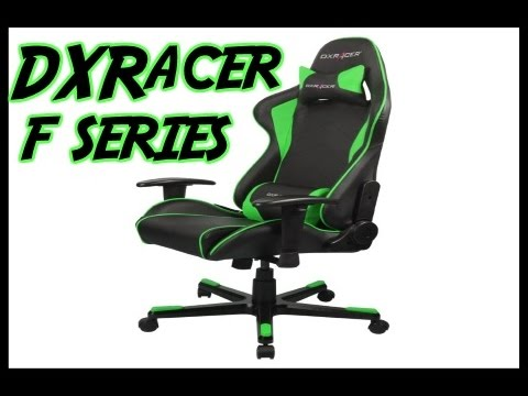 DXRacer F Series Gaming Chair Unboxing & Asembled - YouTube