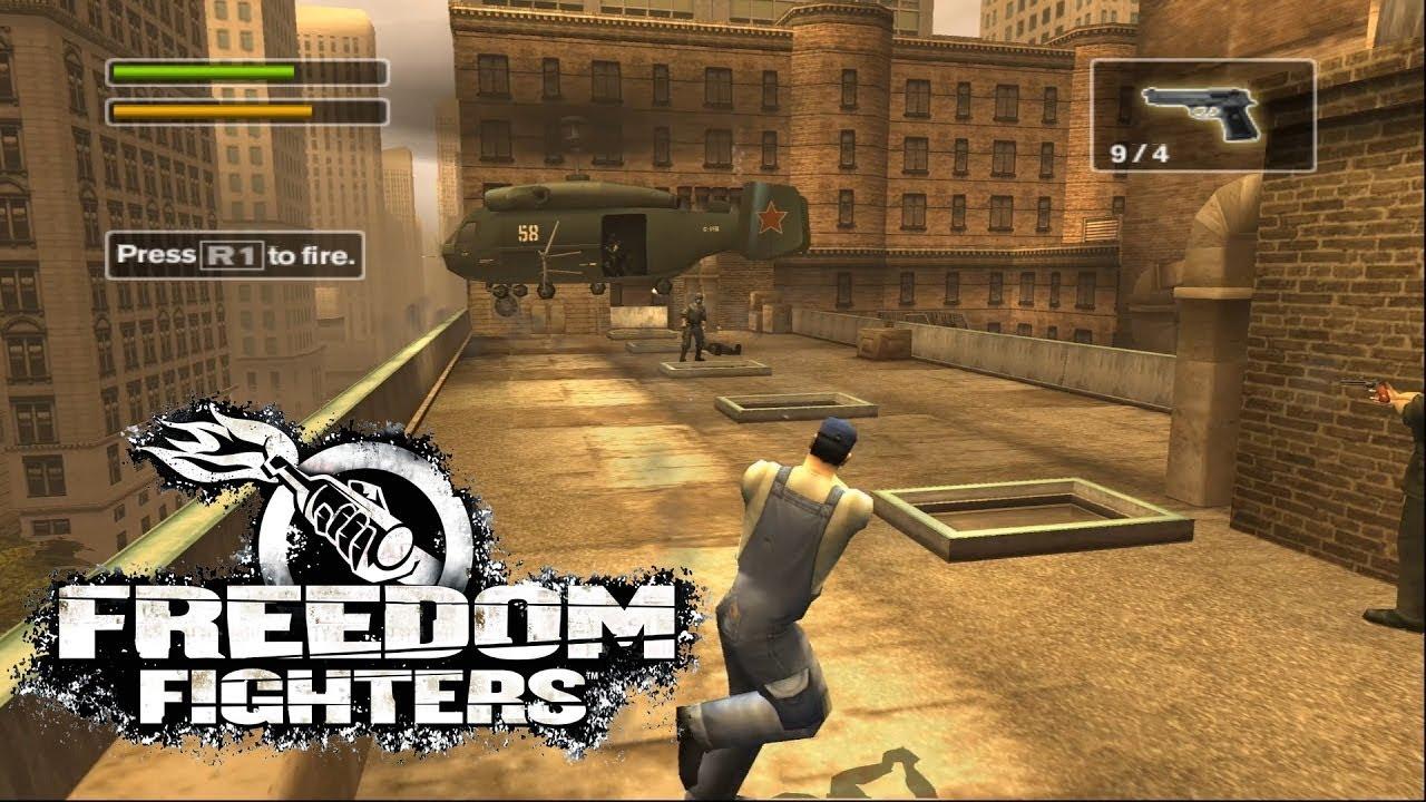 تحميل لعبة freedom fighters 1