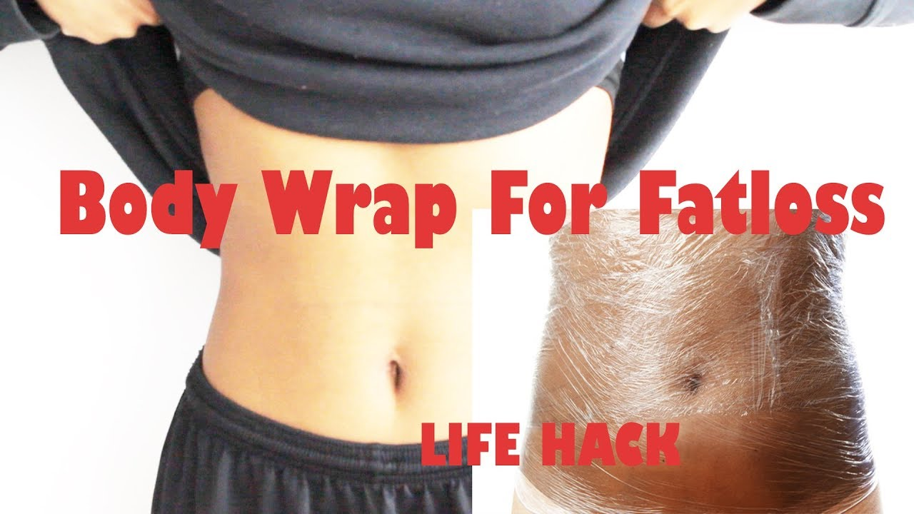 Lose Weight Overnight| PLASTIC Wrap For Weight Loss