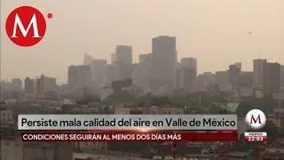 Mantienen contingencia ambiental en Valle de México