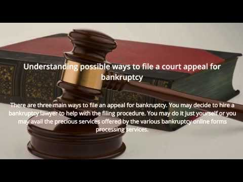 bankruptcy online: Filing Bankruptcy Online – Just Simple and Convenient