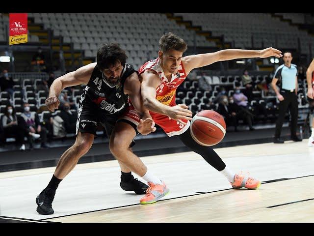 [HighLights] Virtus Segafredo Bologna - Carpegna Prosciutto Basket Pesaro: 100-80