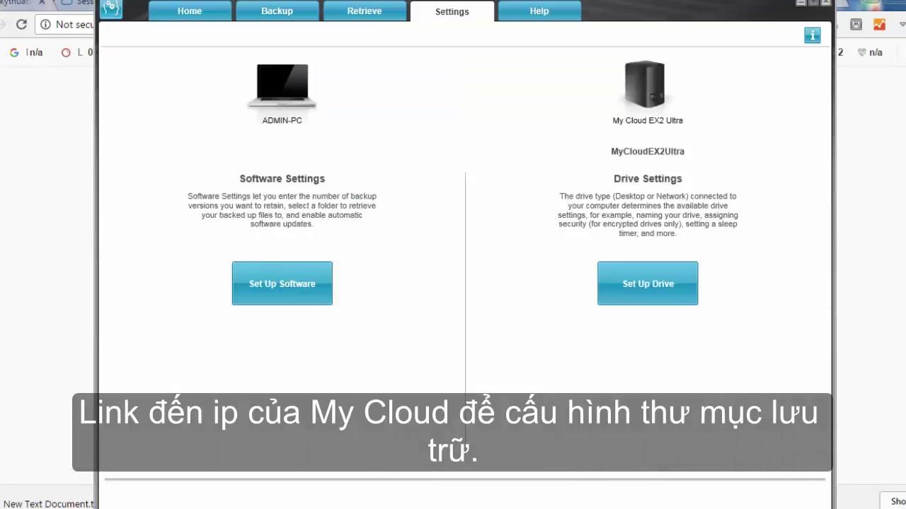 Hướng dẫn sử dụng WD SmartWare backup dữ liệu tới ổ cứng WD