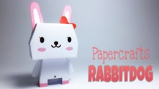Rabbitdog Paper Crafts tutorial !