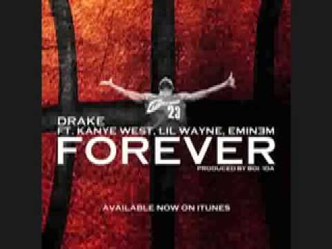 Drake Feat. Kanye West, Lil Wayne & Eminem - Forever [CDQ/NODJ] Final Version