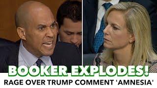 Video Cory Booker Explodes On Homeland Secretary download MP3, 3GP, MP4, WEBM, AVI, FLV Januari 2018
