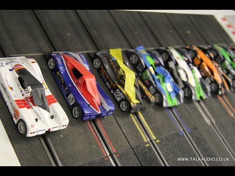 THE FASTEST SLOT CAR TRACK EVER! CONTRALUBE770 MAKES CARS BREAK TRACK RECORDS!