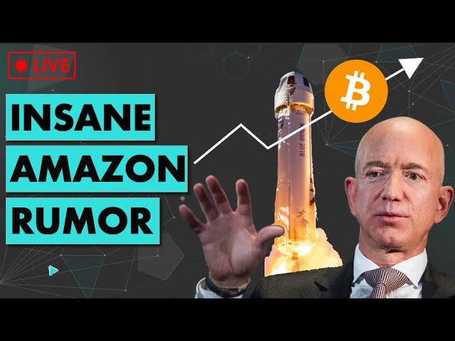 🔴 INSANE Amazon Rumor... HUGE DEAL if true.... | Ethereum & DeFi News