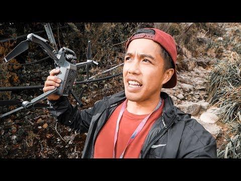 DRONE FLYING IN MT KINABALU!! - BORNEO TREKKING!!! (182 | Southeast Asia Travel VLOG)