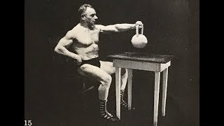 """""""Гиревое застолье"""" Зигмунда Кляйна. Klein kettlebell muscle-out from the table."""