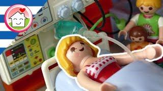 Playmobil ταινία Η μαμά μπαίνει στο νοσοκομείο - οικογένειας Οικονόμου