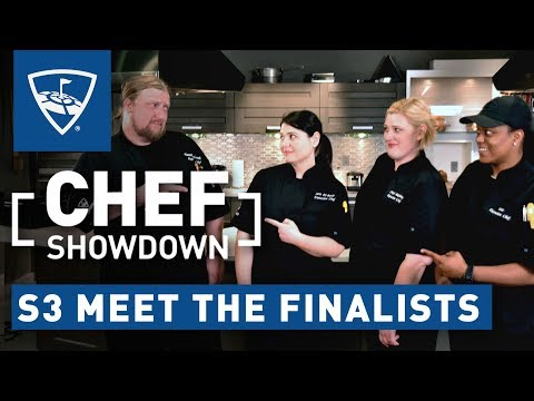 Chef Showdown | Season 3, Episode 5 Meet the Finalists | Topgolf