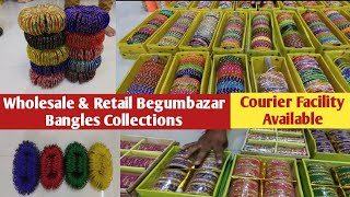 Hyderabad Manufacturers || Beautiful Wholesale Stone and Fancy Bangles purchases through Vodeo Call