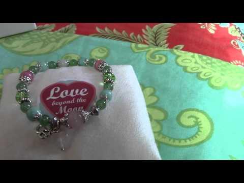 ANAHATA ~ Heart Chakra Gemstone Healing Bracelet from Love Beyond the Moon