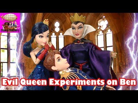 Evil Queen Experiments on Ben - Part 34 - Descendants Reversed Disney