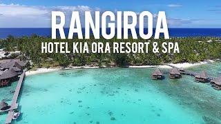 RANGIROA - Hotel Kia Ora Resort & Spa (DJI Phantom 4 Drone Video)