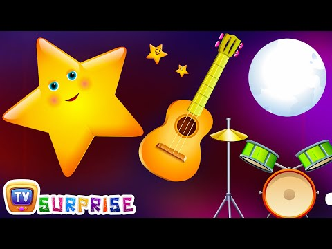 Surprise Eggs Nursery Rhymes Toys | Twinkle Twinkle Little Star | Learn Colours | ChuChu TV