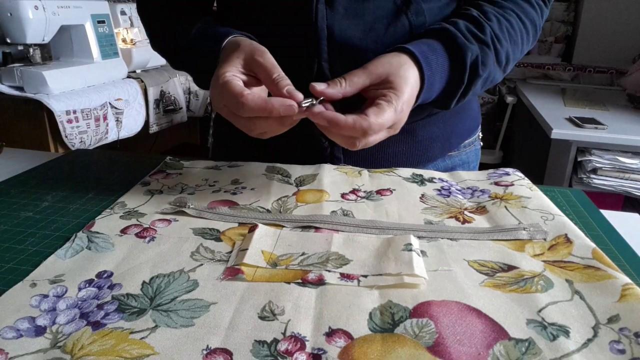 Come Realizzare Una Federa Per Cuscino.Come Realizzare Una Federa Per Cuscino Con Cerniera Arredamento Casa Cucito Facilissimo