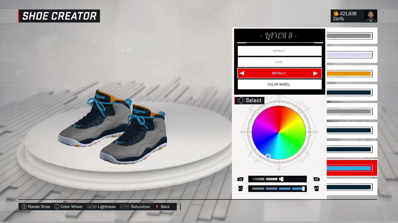 a090a52d14d342 NBA 2K17 Shoe Creator - Air Jordan 10