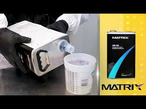 Ryan Evans Talks Matrix AG-40 Clearcoat