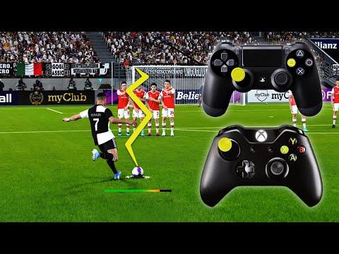 PES 2020 FREE KICK TUTORIAL | Xbox & Playstation | 1080p 60FPS