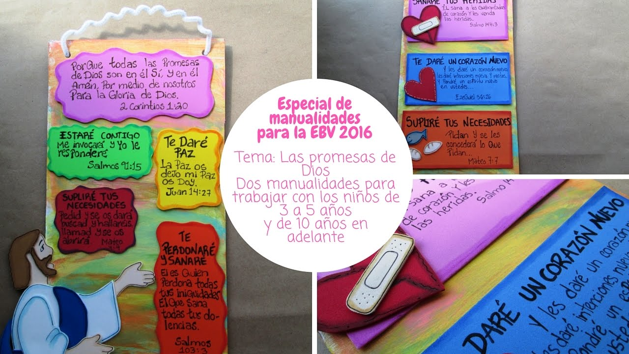 Especial de manualidades para la EBV 2016/ Las promesas de ... | 1280 x 720 jpeg 146kB