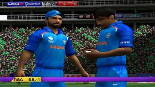 India vs South Africa - 10 Overs Match 1 Part 2 - EA CRICKET 18 PC Gameplay