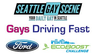 Seattle Gay Scene   Gays Driving Fast   2015 Ford Mustang