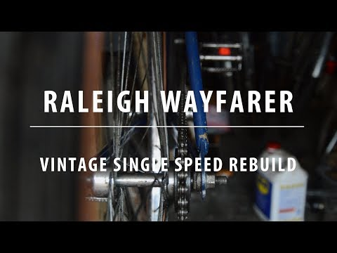Raleigh Wayfarer Single Speed Build / How To Work Out Chain Line