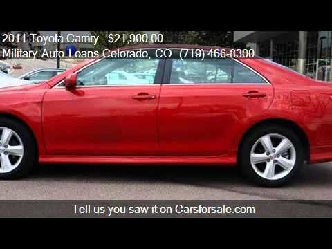 Toyota Camry Unspecified For Sale In Colorado Springs