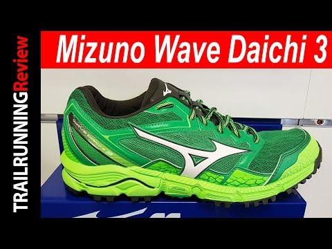 Mizuno Wave Daichi 3 Preview - YouTube