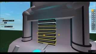 ROBLOX: Building a Sci-Fi Turret Time-Lapse Pt 1 -- HD