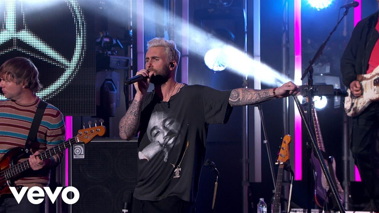 maroon-5-what-lovers-do-jimmy-kimmel-live-2018-maroon5vevo