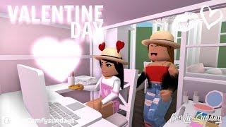 Mom & Daughter Valentine Day!! || Roblox Bloxburg