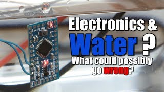 Electronics  Water What could possibly go wrong