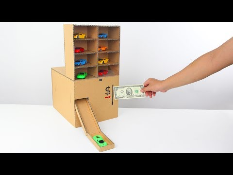 Thumbnail: How to Make Amazing Car Vending Machine from Cardboard!