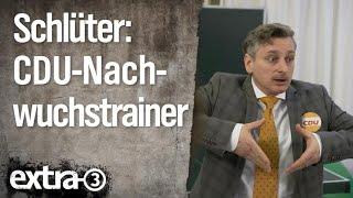 Johannes Schlüter: Nachwuchstrainer der CDU