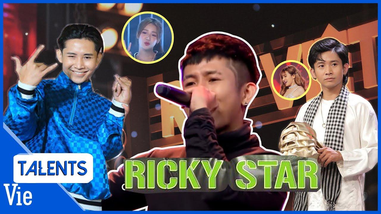 Trước Rap Việt, RICKY STAR đã chiếm trọn spotlight những phần trình diễn nào?