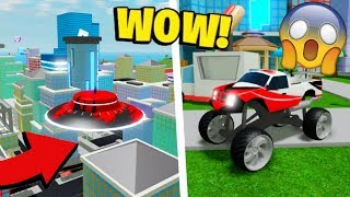 Mad City UFO - MONSTER TRUCK Review (Roblox Mad City Unlocking Saison 4 Level 100 Récompense)
