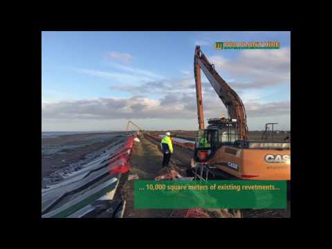 Long reach excavators - working with the EA